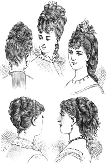 Hairstyles Of 1870 Geri Walton