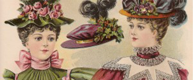 3d6245404 Millinery 1800s Archives - Page 2 of 3 - Geri Walton
